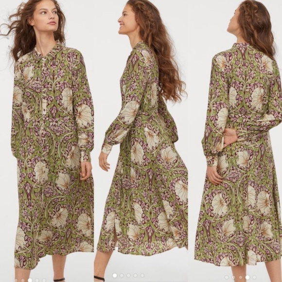 50b8c647dccb WILLIAM MORRIS & CO. x H&M Dresses | William Morris Co X Hm Floral ...